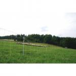 Schaf-und Ziegennetz,120cm, 50m gelb/sw Doppelspitze