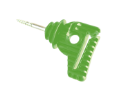 Isolator für Band und Seil hellgrün(30Stk.)