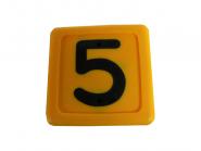 Blocknummer 5 für Halsmarkierungsbänder 5