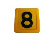 Blocknummer 8 für Halsmarkierungsbänder 8