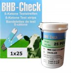 BHB-Check - ß Ketone Teststreifen vet.25 Stk.
