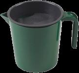Vormelkbecher grün 1 Liter