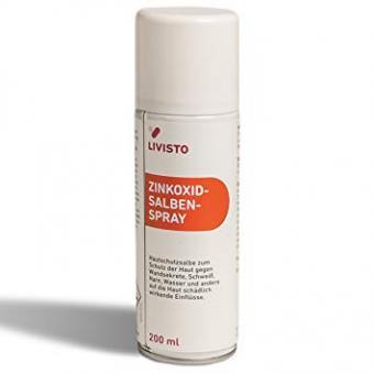 Livisto Zinkoxid - Salben - Spray 200 ml