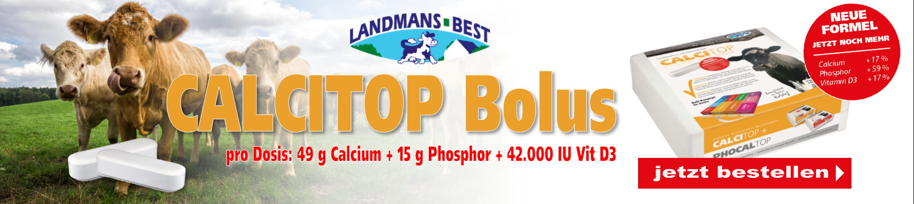Banner Landmans Best Calcitop